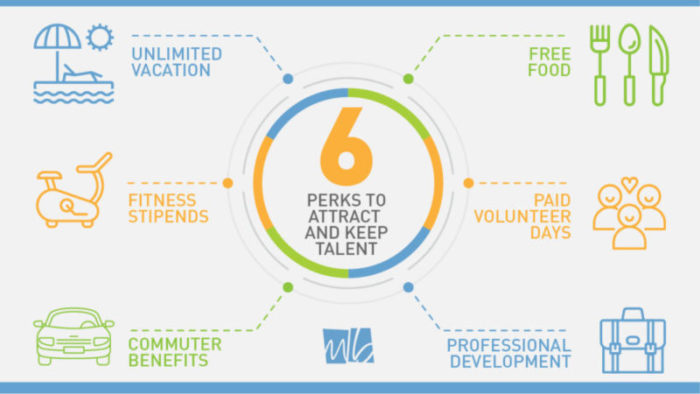 6 Perks that attrack and keep talent